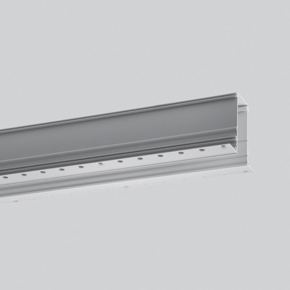 Algoritmo Controlled - Prismoptic Emission - Structural module recessed - Trimless 2368mm