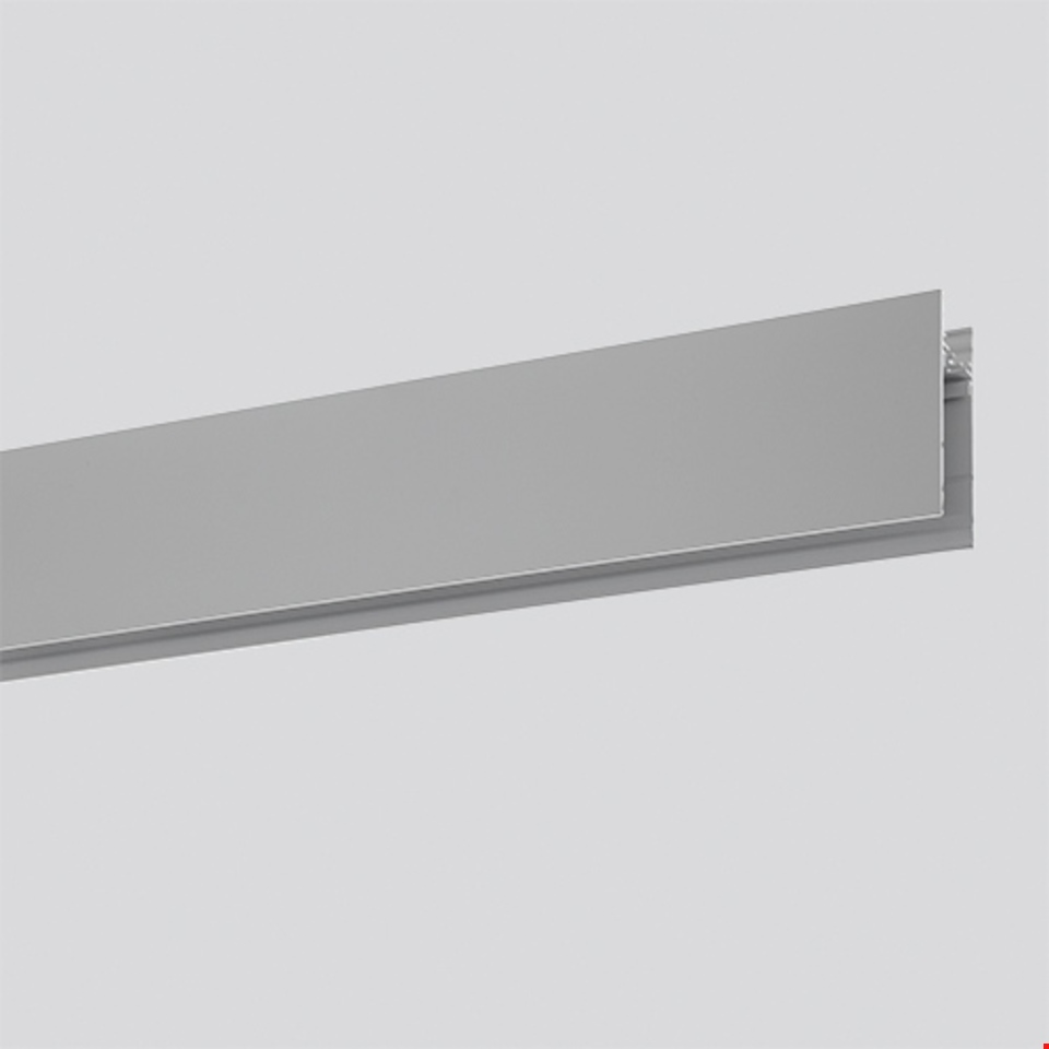 Algoritmo System - Diffused Emission - Structural modules suspension, ceiling, wall - 2368mm Silver