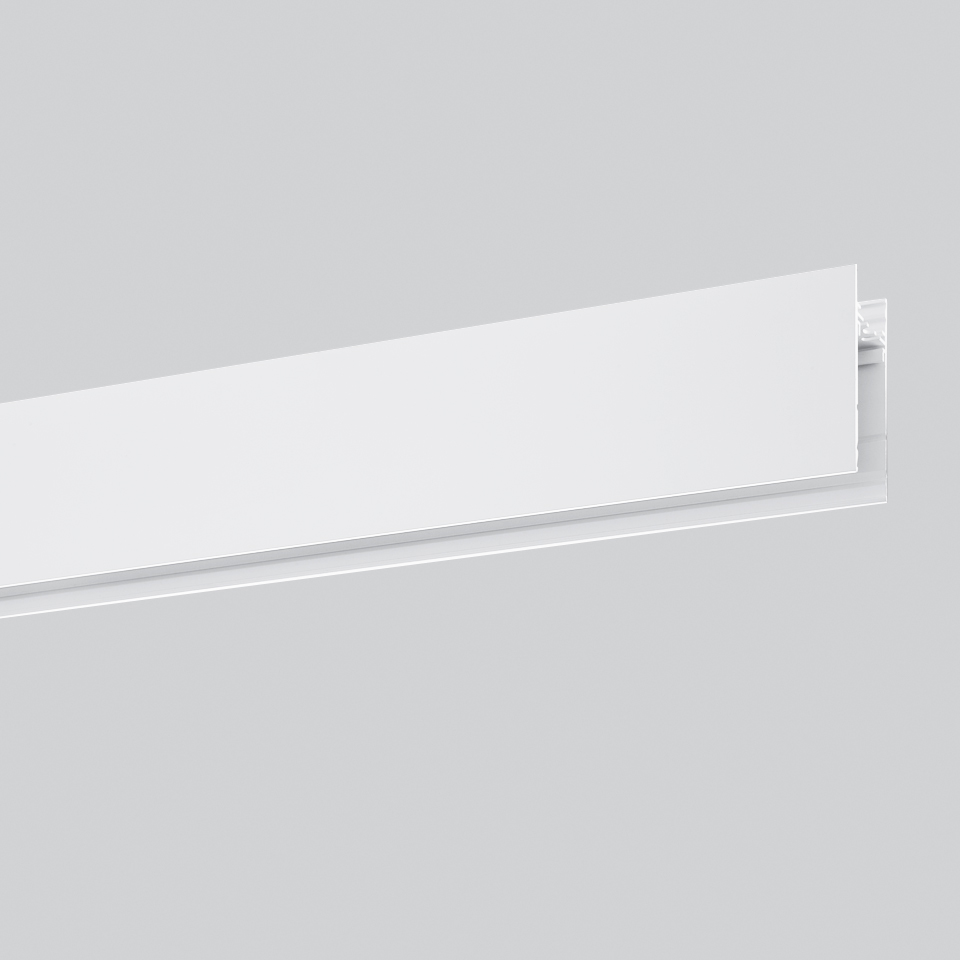 Algoritmo System - Diffused Emission - Structural modules suspension, ceiling, wall - 2368mm White