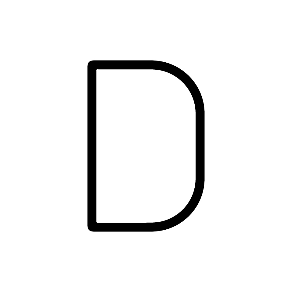 Alphabet of Light - Uppercase - Letter D