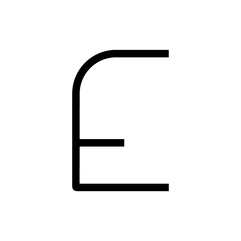 Alphabet of Light - Uppercase - Letter E