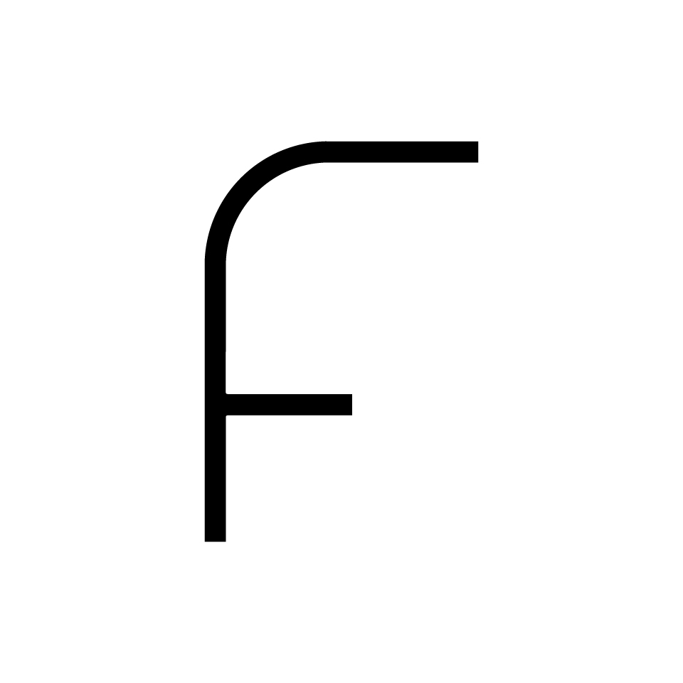 Alphabet of Light - Uppercase - Letter F