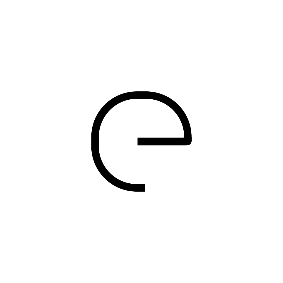 Alphabet of Light - Lowercase - Letter e