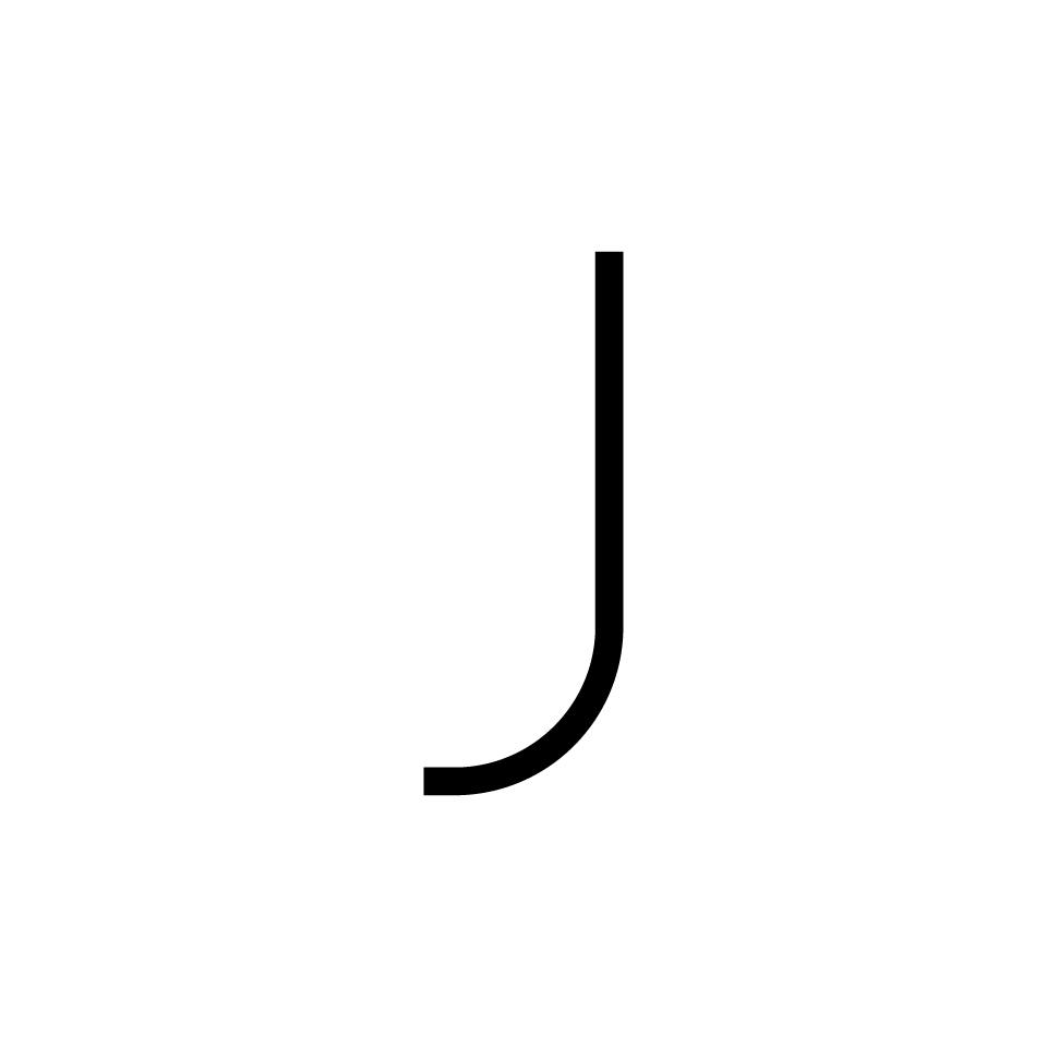 Alphabet of Light - Lowercase - Letter j