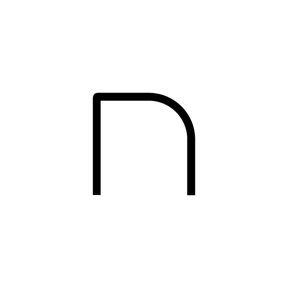 Alphabet of Light - Lowercase - Letter n