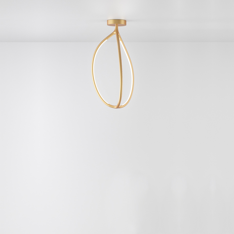 Arrival 70 ceiling - Brass