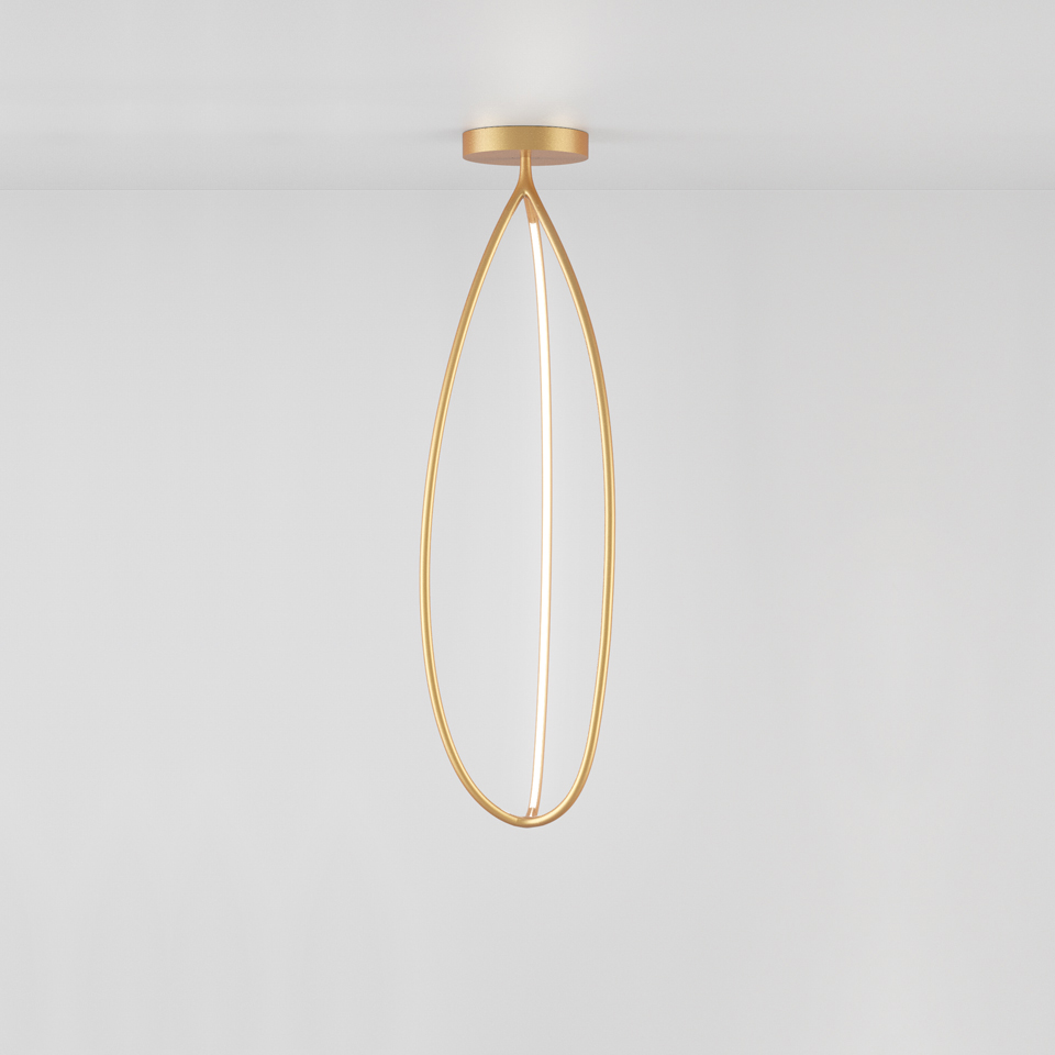 Arrival 130 ceiling - Brass