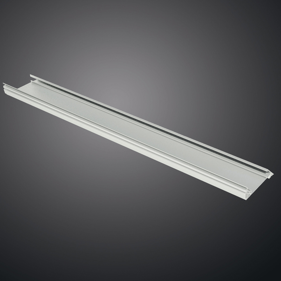 Caelum Linear structural module (set of 2) 2000mm Blanco