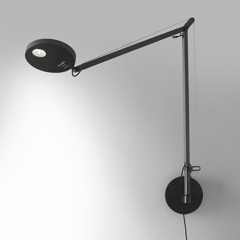 Demetra Wall - Movement Detector - 3000K - Body Lamp - Anthracite Grey
