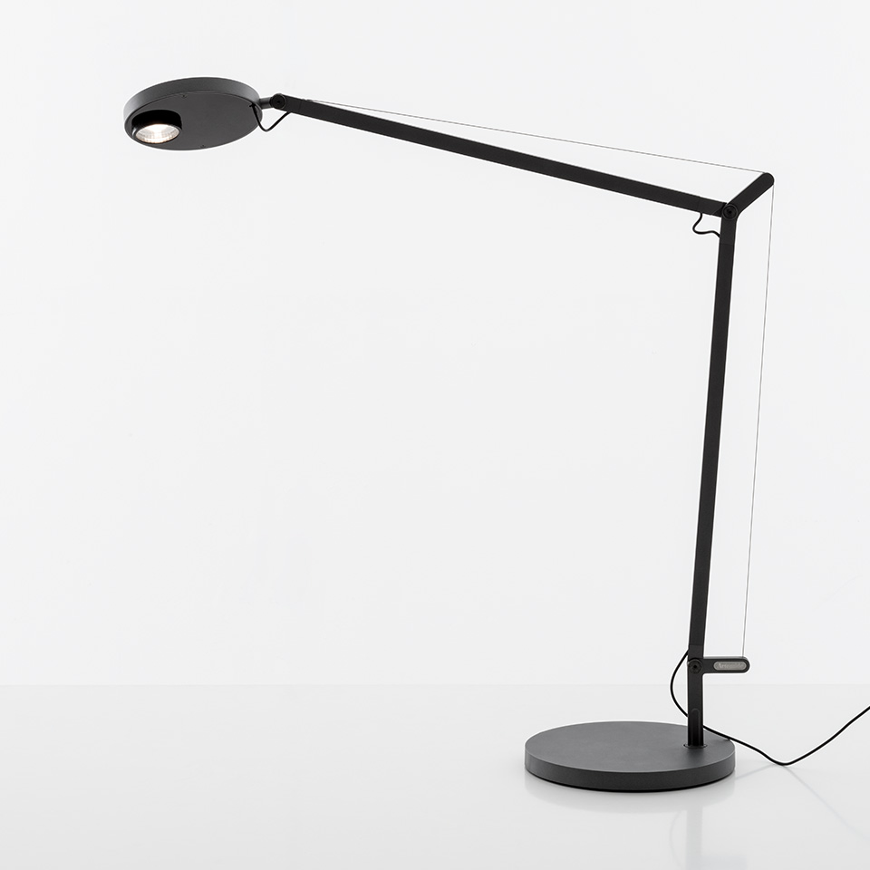 Demetra Professional Table - Movement Detector - 3000K - Body Lamp - Anthracite Grey