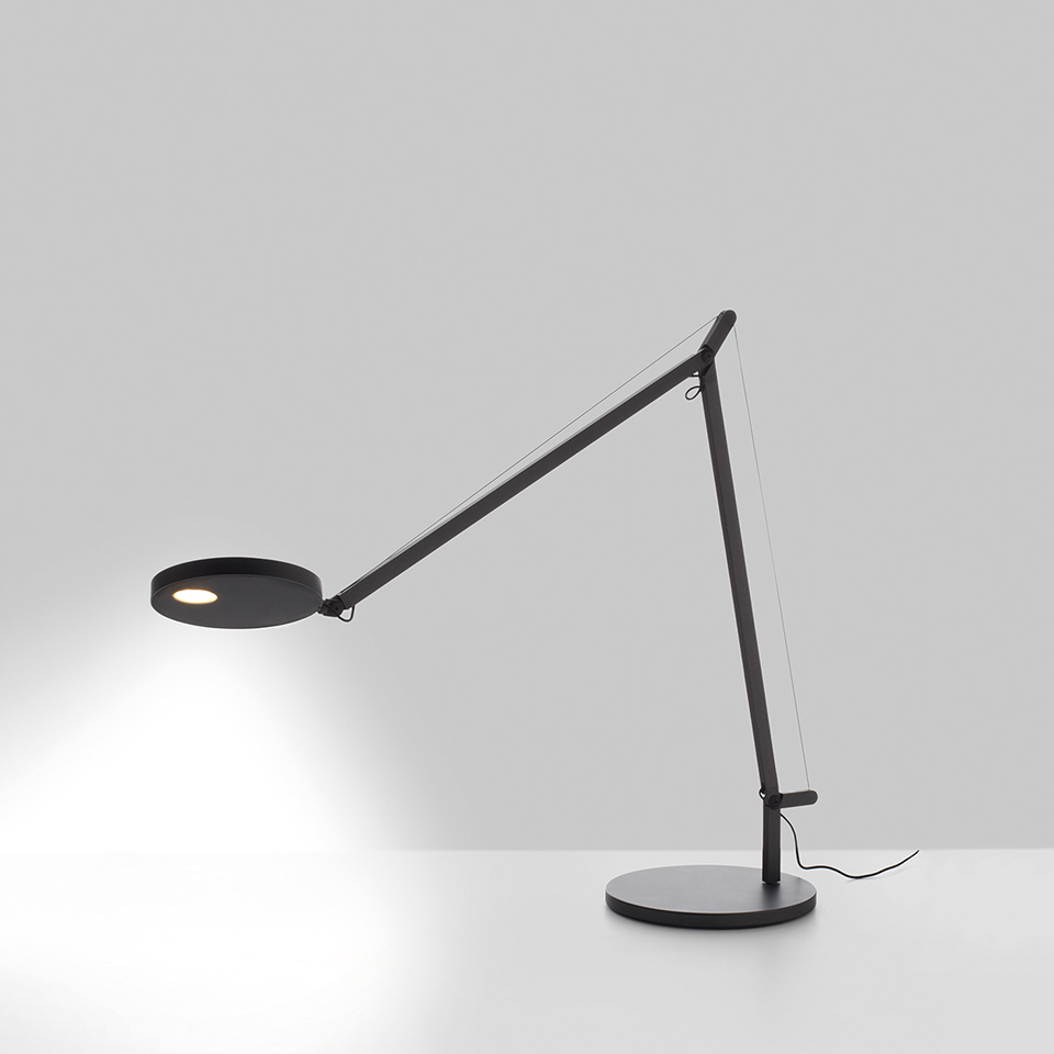 Demetra Table - Movement Detector - 3000K - Body Lamp - Anthracite Grey
