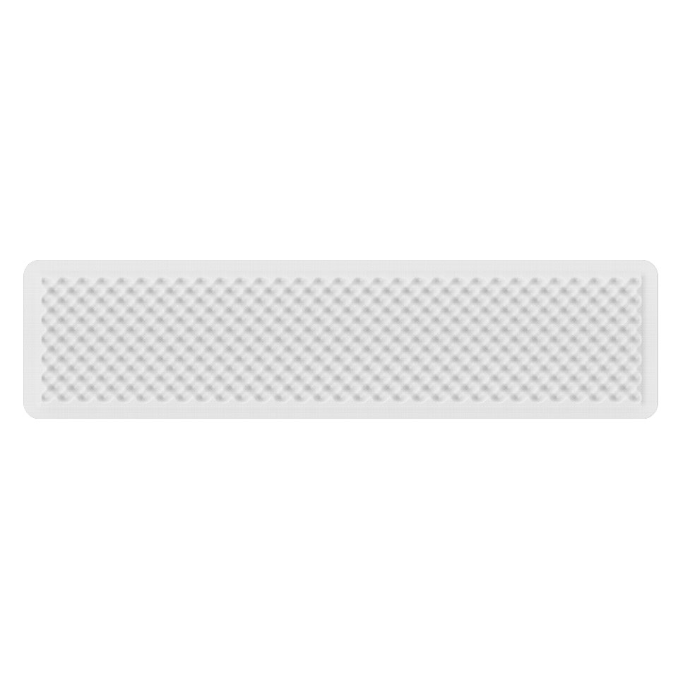 Eggboard Acoustic Panel - 1600x400 - Wall/Ceiling - White Cream