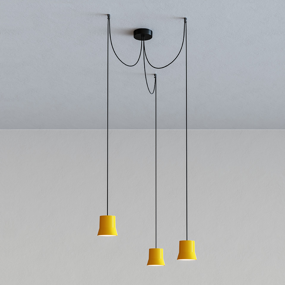 GIO.light Cluster - Yellow