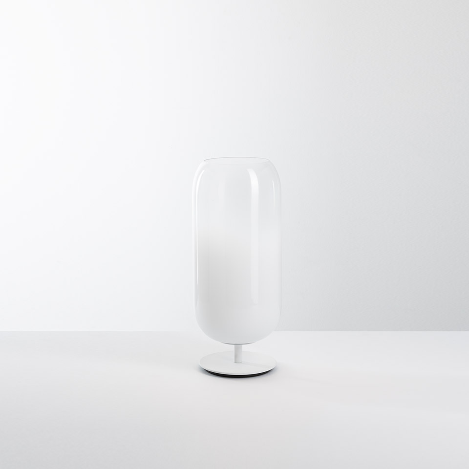 Gople Mini Table - White/White