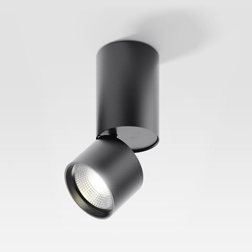 Hoy Spot SMD - 13° - 2700K - Dimmable DALI - Black