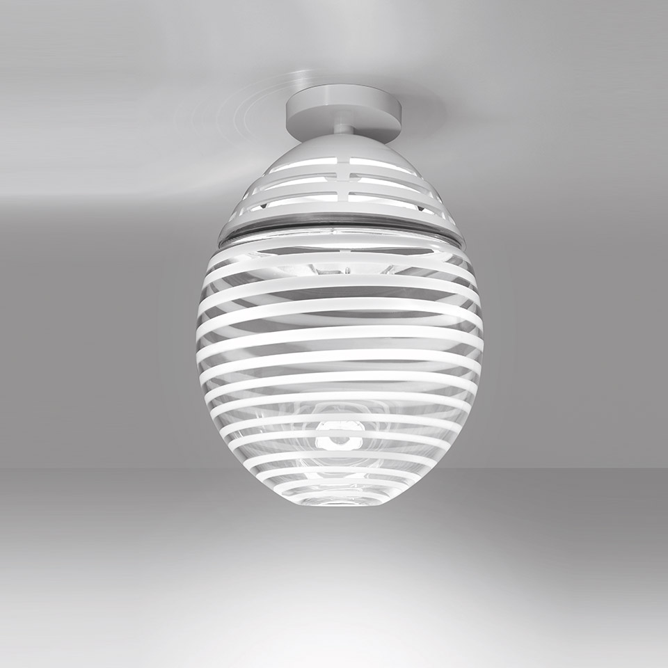 Incalmo 214 Ceiling LED 3000K White