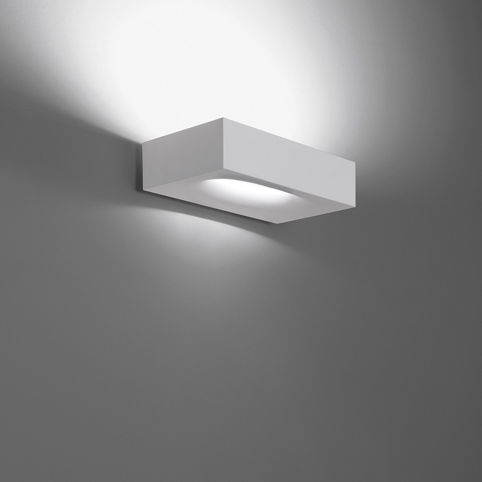 Melete wall white LED 3000K