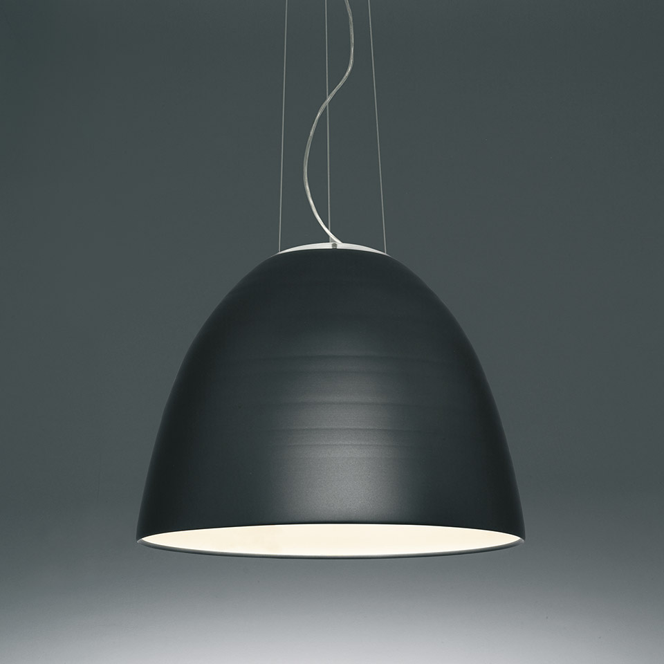 Nur 1618 LED White Integralis - Anthracite grey
