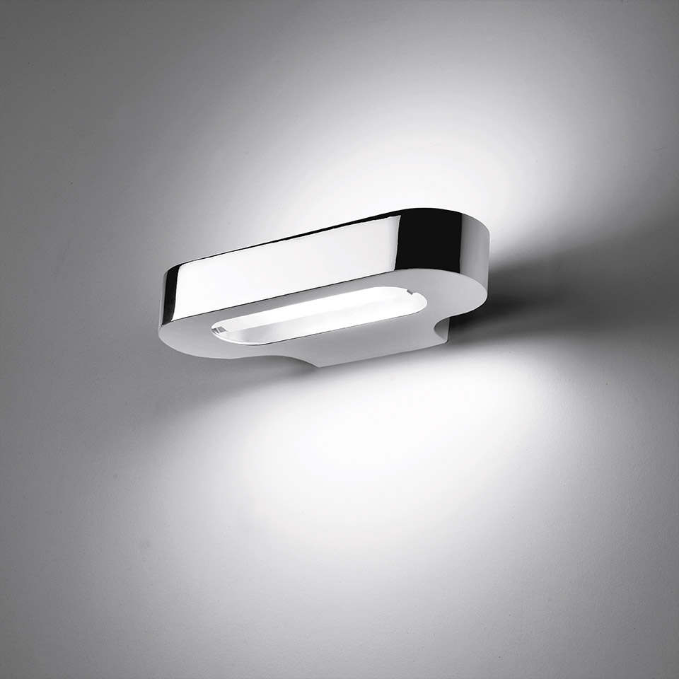 Talo wall LED - Polished chrome 3000K