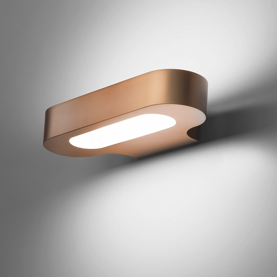 Talo wall LED - Satin copper 3000K
