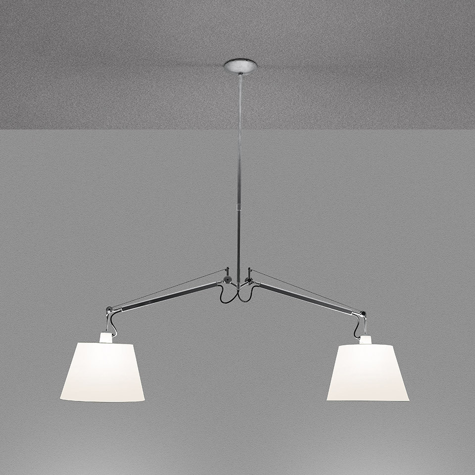 Tolomeo Suspension Basculante 2 Bracci - Body Lamp