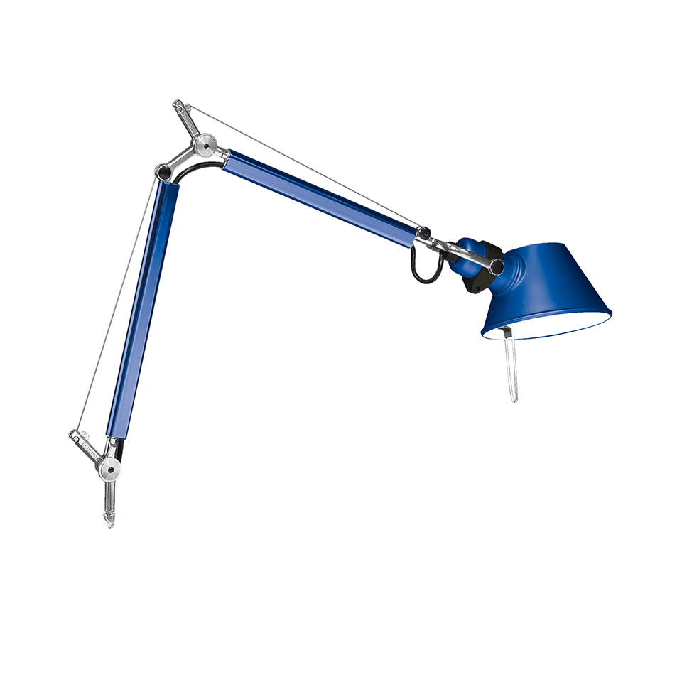 Tolomeo Micro Table - Anodized blue - Body Lamp