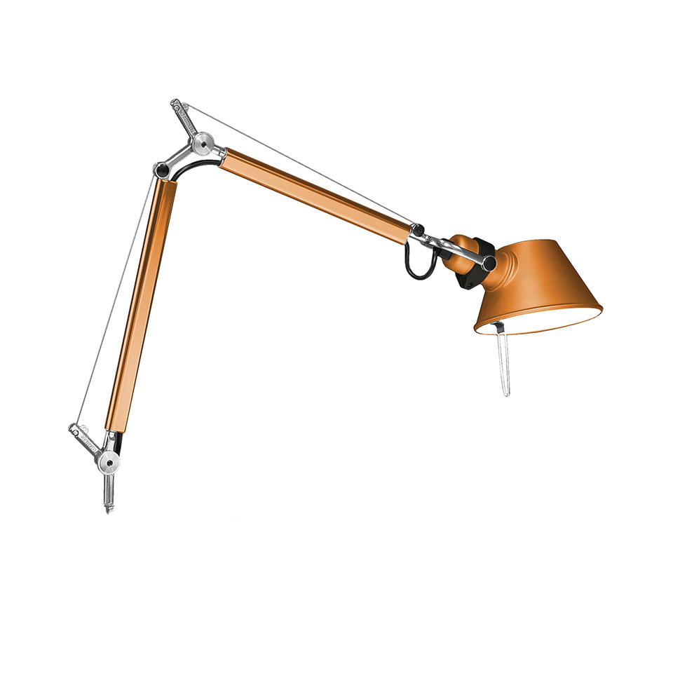 Tolomeo Micro Table - Anodized orange - Body Lamp