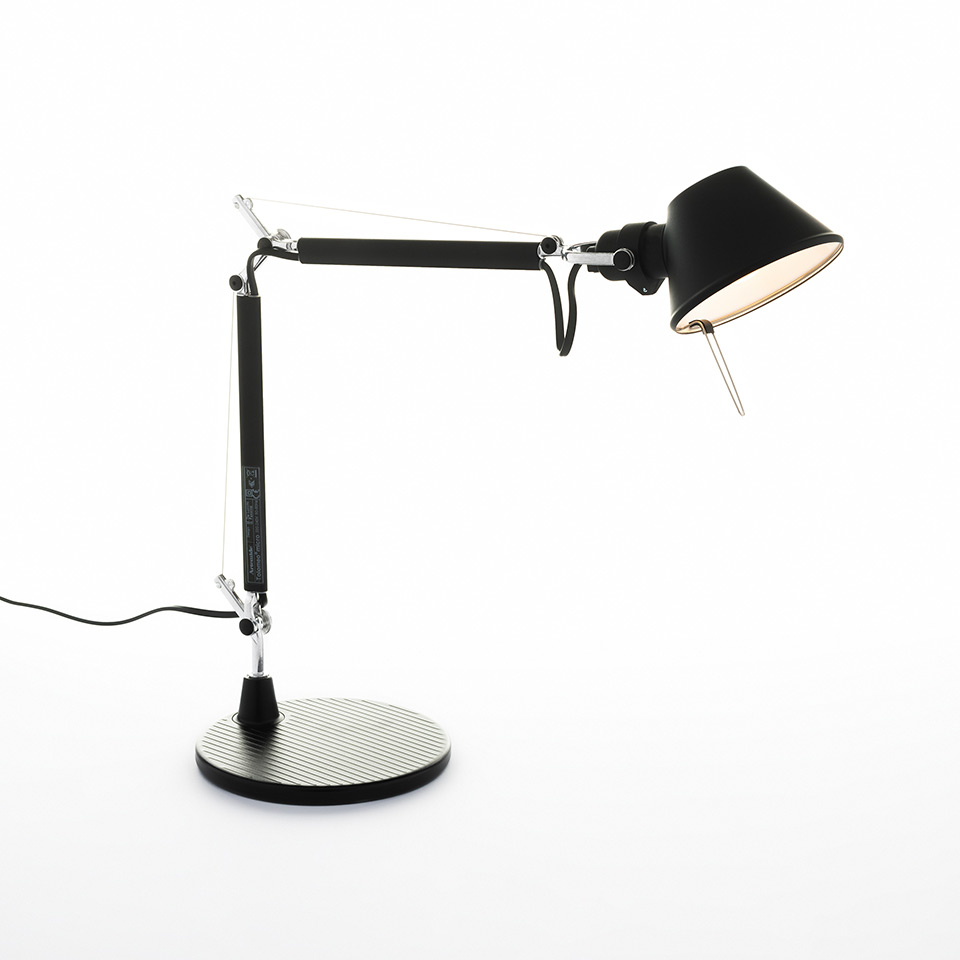 Tolomeo Micro Table - Black - Body Lamp + Base