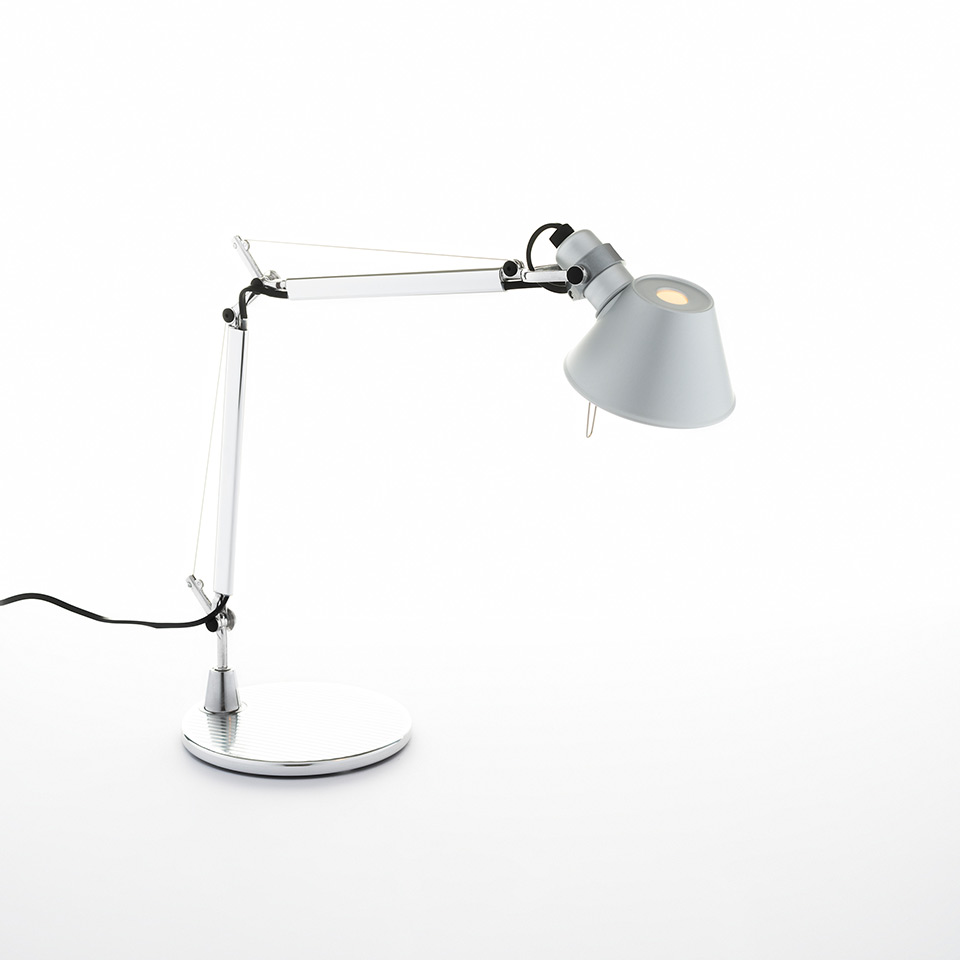 Tolomeo Micro Table - Aluminium - Body Lamp + Base