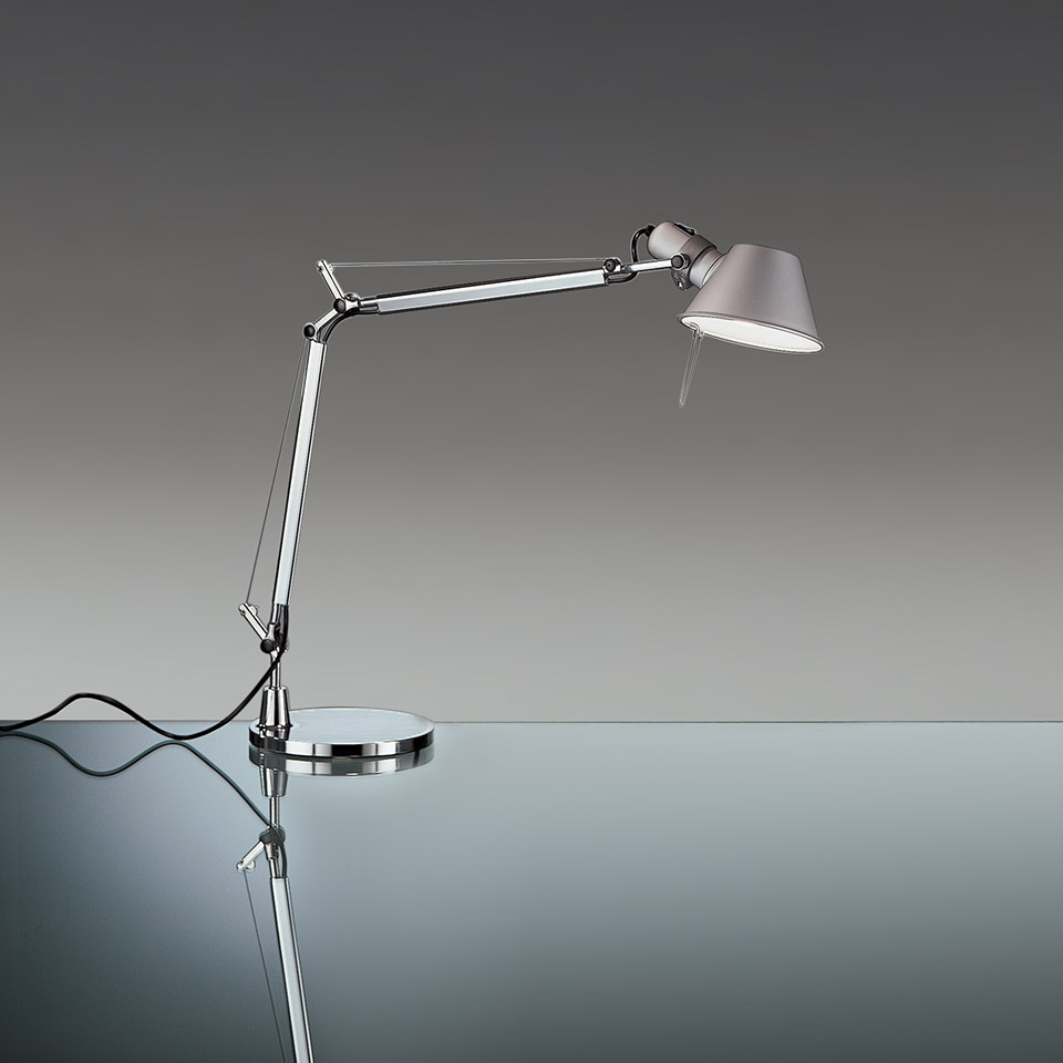 Tolomeo Mini Table - Aluminum - Body Lamp