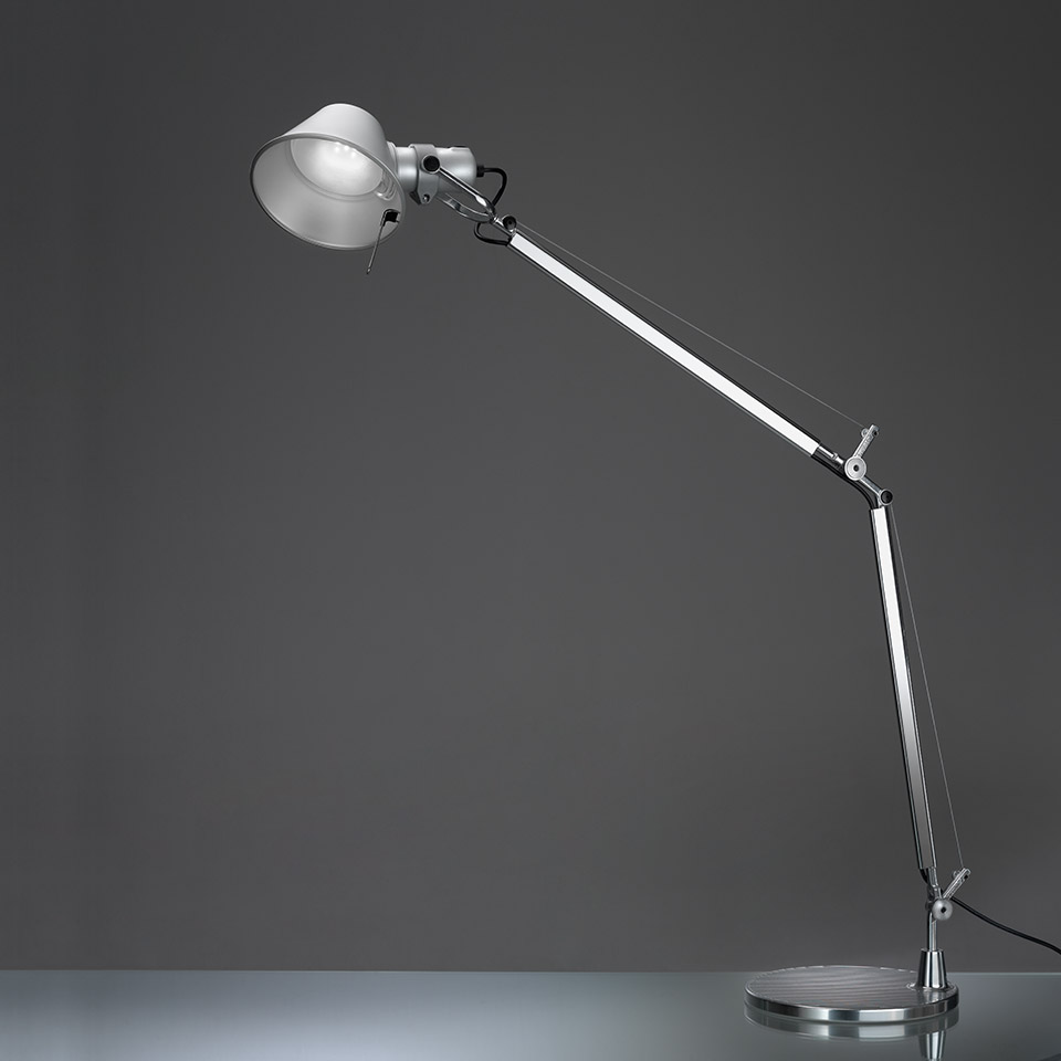 Tolomeo table with presence detector LED 3000K - Body Lamp