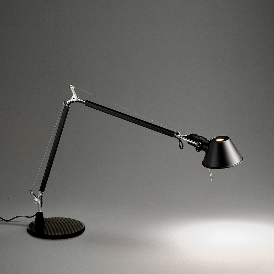 Tolomeo Table - Black - Body Lamp