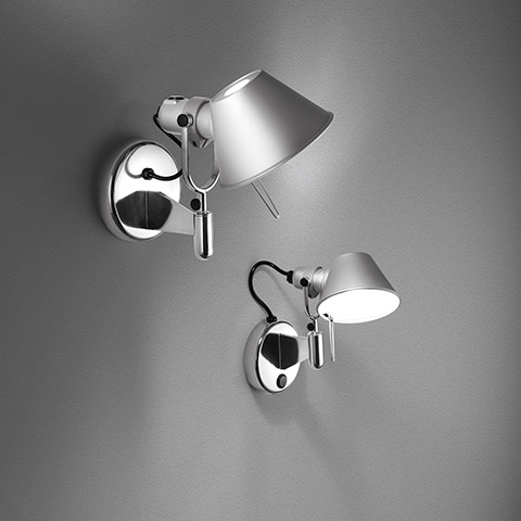 artemide tolomeo micro wall. Black Bedroom Furniture Sets. Home Design Ideas